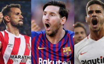 Goleadores Liga Santander 2018