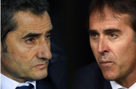 Valverde vs. Lopetegui