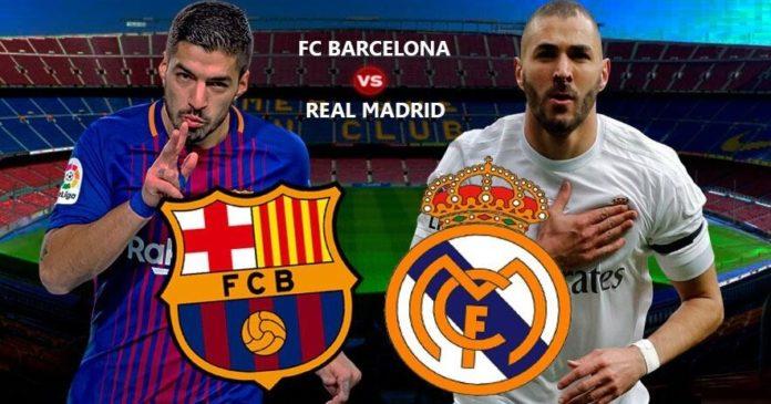 Alineación Barcelona-Real Madrid 2018