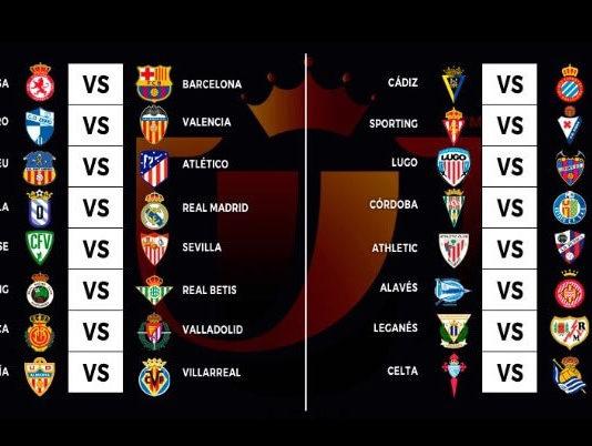 Dieciseisavos Copa del Rey 2018 ida
