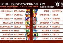 Calendario de la Copa del Rey 2018-201