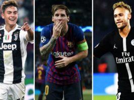 Goleadores Champions League 2019