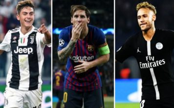 Goleadores Champions League 2019