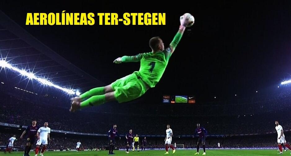 Memes del Barcelona-Sevilla 2018
