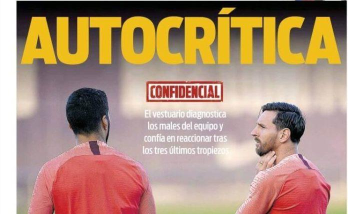 El Barça hace autocrítica