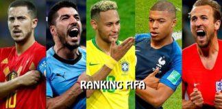 Ranking FIFA Octubre 2018