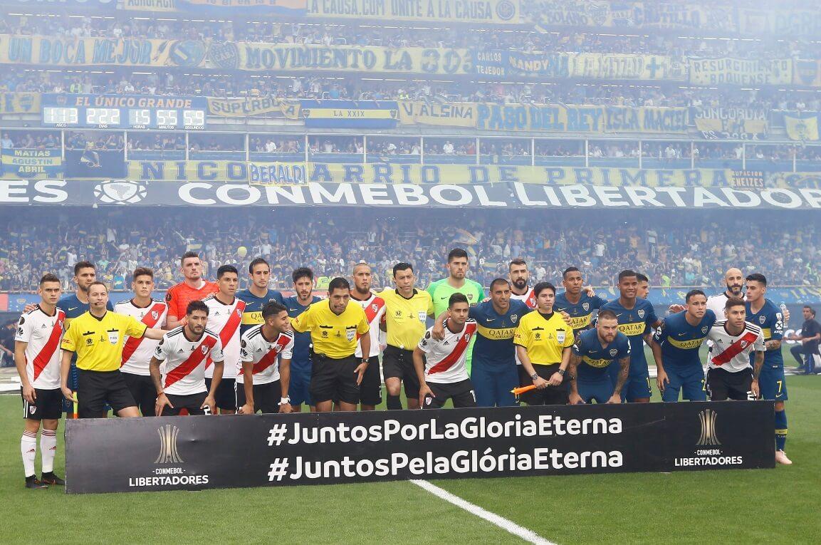 Imágenes Boca-River Final Copa Libertadores 2018