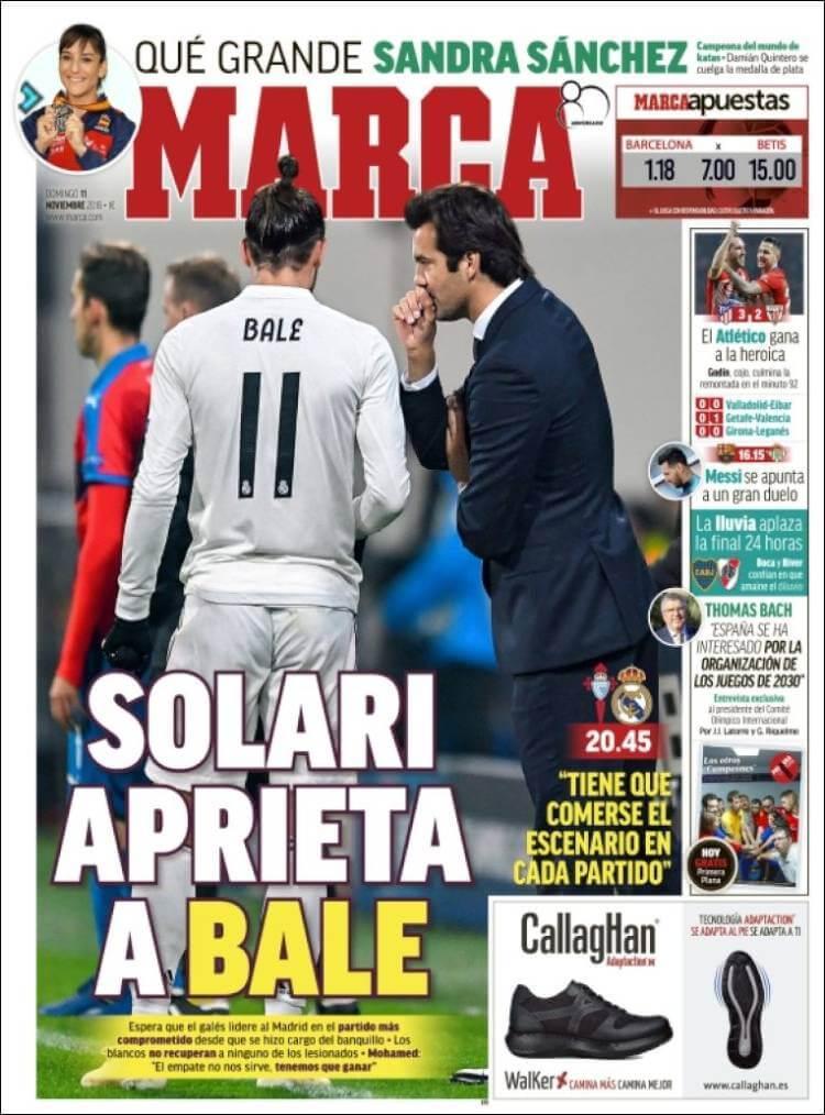 Portada Marca 11/11/2018