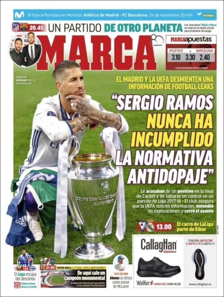 Portada Marca 24/11/2018