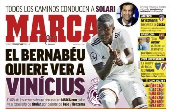 Portadas Deportivas 2/11/2018
