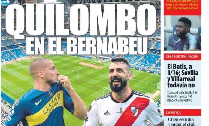 Portadas Deportivas 30/11/2018