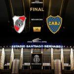 River-Boca en el Bernabéu