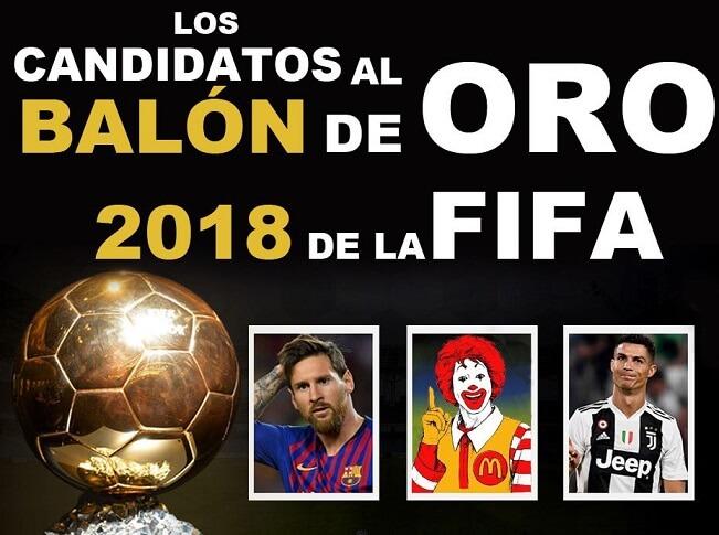 Memes Balón de Oro 2018