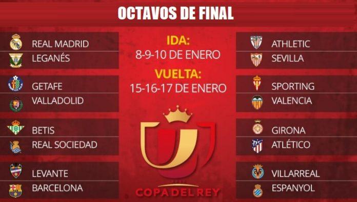 Octavos Copa del Rey 2019 ida