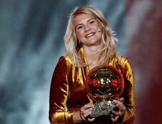 Ada Hegerberg Balón de Oro femenino