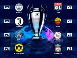 Octavos Champions 2019