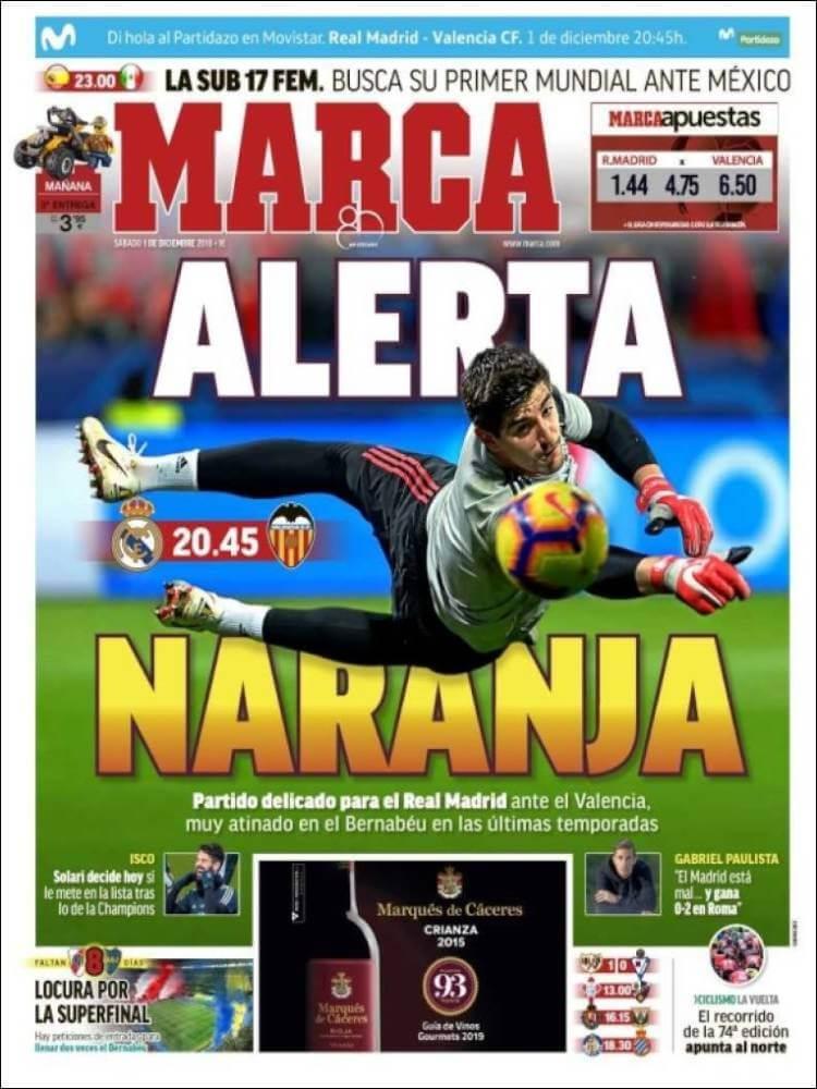 Portada Marca 1/12/2018