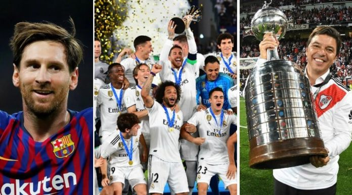 Ranking Mundial de Clubes 2018 definitivo