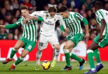 Betis-Real Madrid Jornada 19