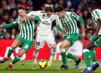 Betis-Real Madrid Jornada 19