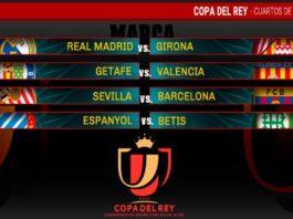 Cuartos Copa del Rey 2019