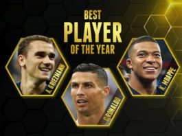Cristiano Ronaldo Globe Soccer 2018
