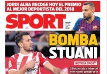 Portadas Deportivas 15/01/2019