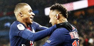 Histórica goleada del PSG 9-0 al Guingamp