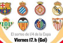 Sorteo Cuartos Copa del Rey 2019