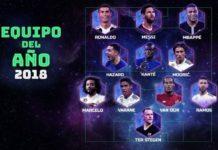 Once ideal UEFA 2018