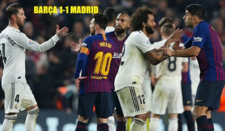 Semifinales Copa 2019 | Barcelona 1-1 Real Madrid