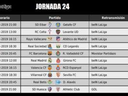 Jornada 24 Liga Santander 2019