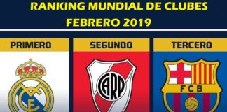 Ranking Mundial de Clubes 2019 febrero