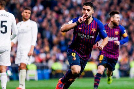 El Barça golea 3-0 al Madrid y es finalista de la Copa