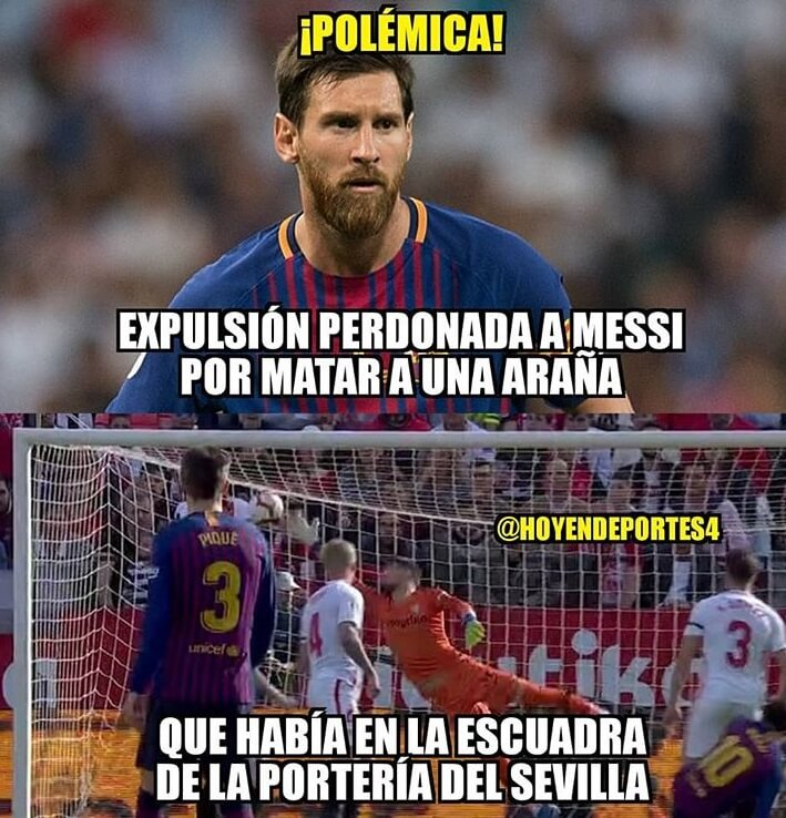 Memes del Sevilla-Barcelona 2019