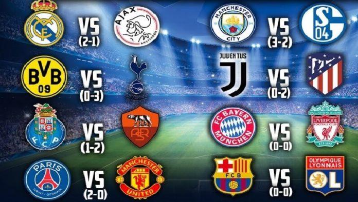 Octavos Champions 2019 vuelta