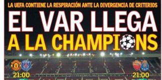 Portadas Deportivas 12/02/2019