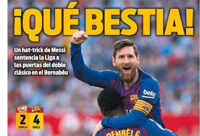 Portadas Deportivas 24/02/2019