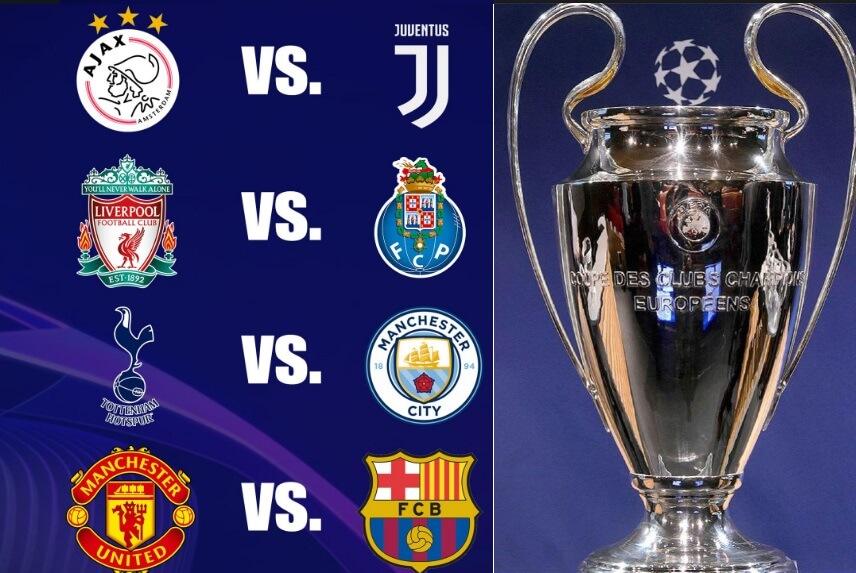 Cuartos Champions League 2019 | Fixture-Calendario