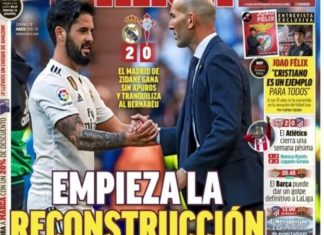 Portadas Deportivas 17/03/2019