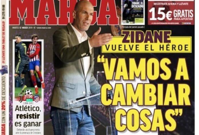 Portadas Diarios Deportivos 12/03/2019