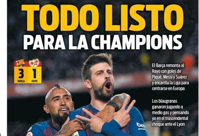 Las Portadas Deportivas 10/03/2019