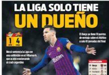 Portadas Deportivas 18/03/2019