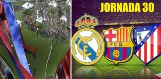 Jornada 30 Liga Española 2019