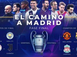 Cuartos de final de Champions 2019