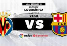 Alineaciones Villarreal-Barcelona