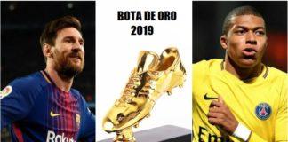 Bota de Oro 2019