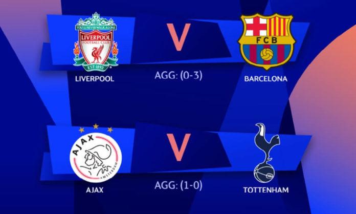 Semifinales Champions 2019 vuelta