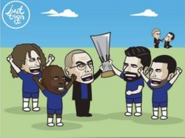 Memes Chelsea-Arsenal Europa League 2019