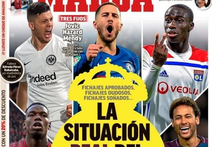 Portadas Deportivas 11/10/2019